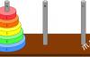 Python递归函数经典案例-汉诺塔问题